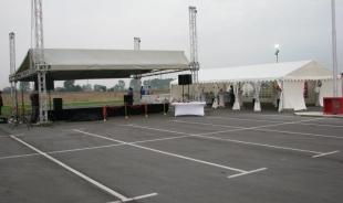 Коктейл - първа копка на нов пътен възел на Ботевградско шосе, 150 гости - 17.09.2011