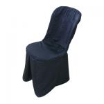 Калъф за PVC за стол - черен